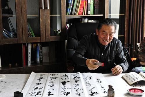 张霖老师的书法作品,多次参加省市县及国内各项书法展,屡次获奖,书法