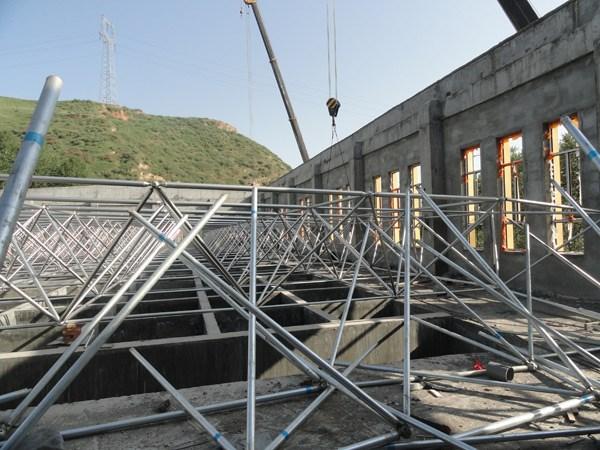钢结构网架工程事故案例