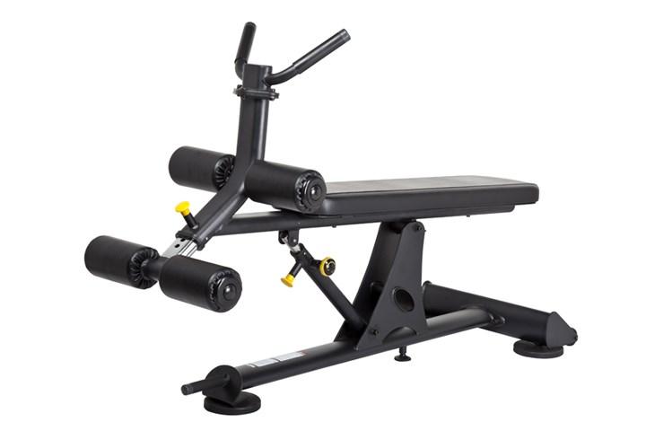 SH-N9026 可调式仰卧板_西宁健身器材_西宁跑